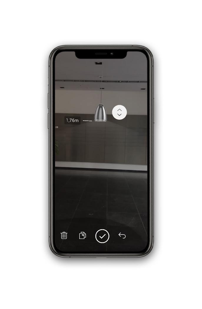 BEGA Gantenbrink-Leuchten AR+ Augmented Reality App iOS iPhone Pendant Luminaire
