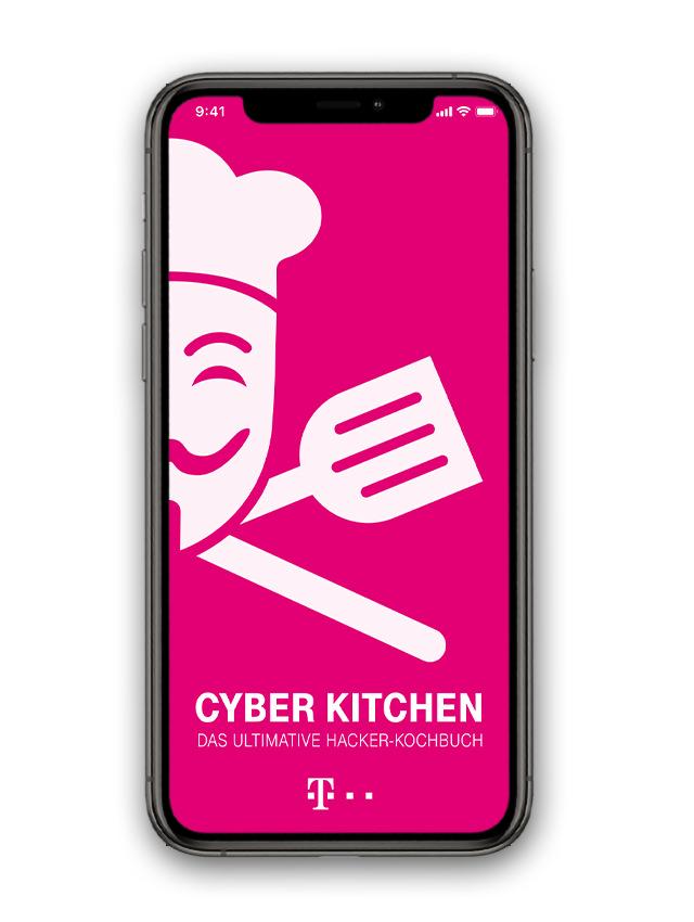 T-Systems Cyberkitchen Mobile App - Splash Screen